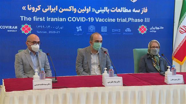 One million doses of Iranian Cov-Iran Barakat vaccine ready for emergency use