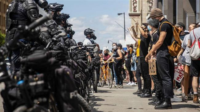 US officers charged with assault during George Floyd protests