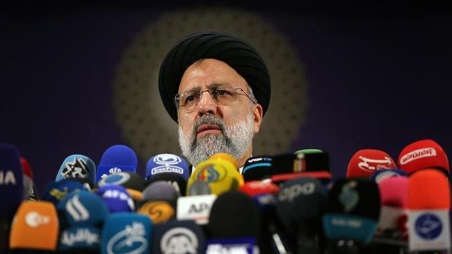 Iran's Ebrahim Raeisi holds first presser as president elect