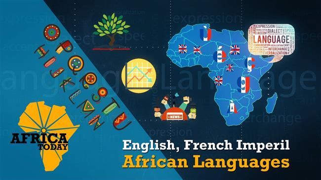 English, Frenchimperil African languages
