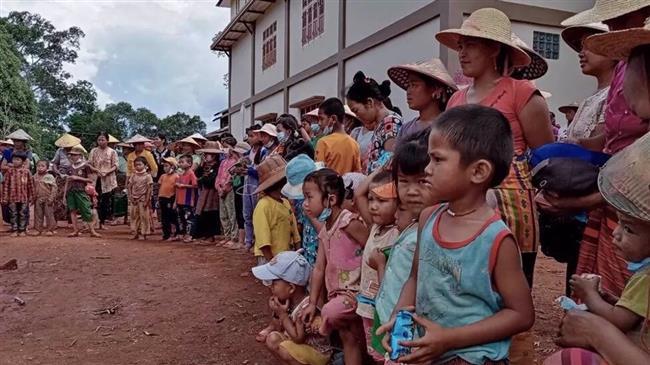 UN: 230,000 people displaced by fighting in Myanmar