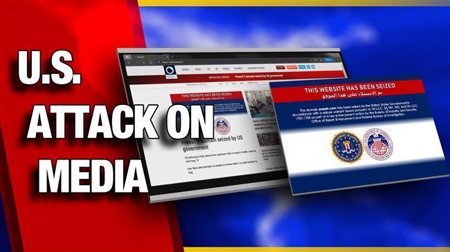 US attack on media