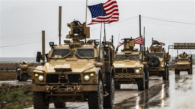 US sends truckloads of military, logistic reinforcements to Syria's Hasaka after air raids
