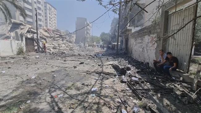 Palestinians denounce Israeli blockade of Gaza Strip