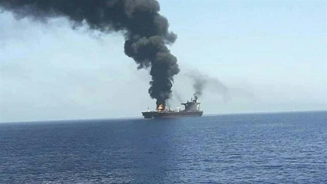 Un navire israélien frappé!