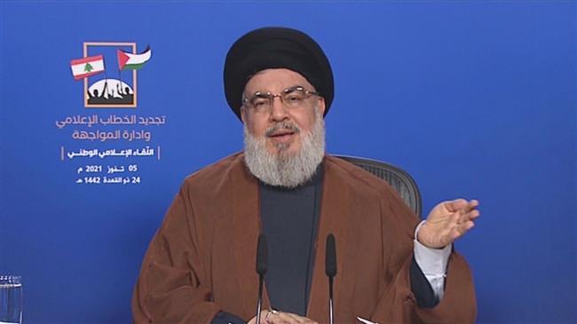 Nasrallah: Pro-resistance media back Palestinians' rights, humanitarian values