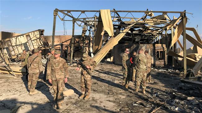 Airbase housing US occupation troops in Iraq comes under new rocket attack