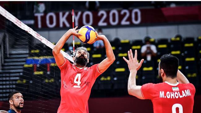 Volleyball: Iran beat Venezuela in straight sets at Tokyo Olympics