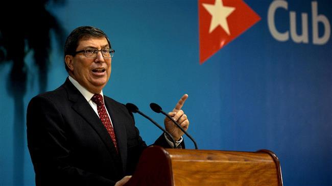 Cuba decries 'inhuman' US blockade, demands end to Cold War policies