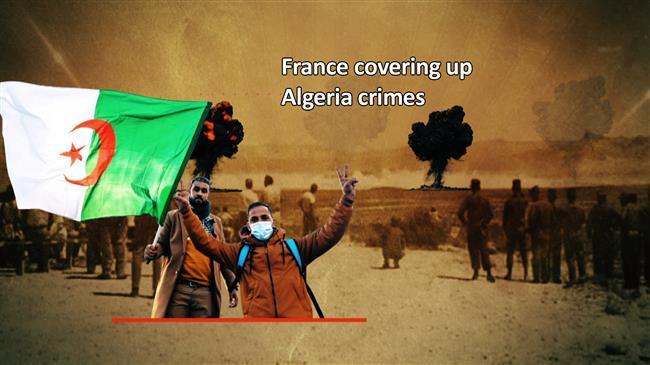 France covering up Algeria crimes