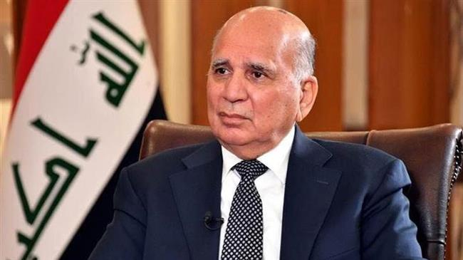 Iraqi FM visits Tehran to talk bilateral ties, regional issues with top Iranian officials