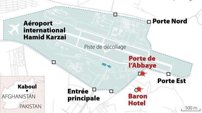 Kaboul : Méga False flag US...