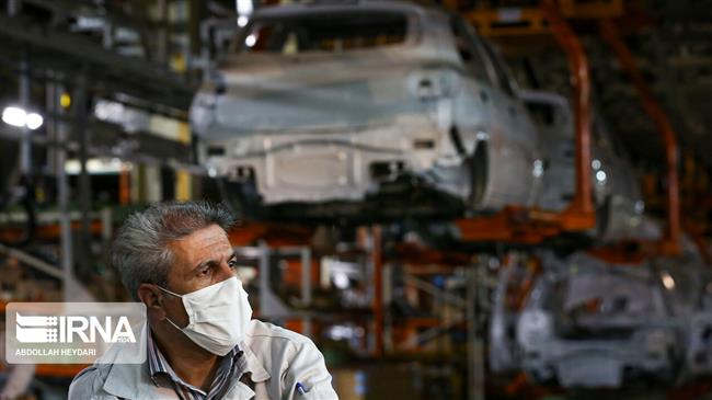 Iranian vehicle output nearly flat y/y in March-July: Report