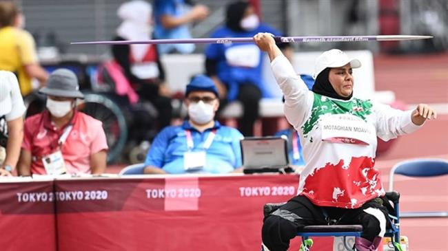 Iranian sportswomen ace their competitions in Tokyo 2020 Paralympic Games, clinch two gold medals
