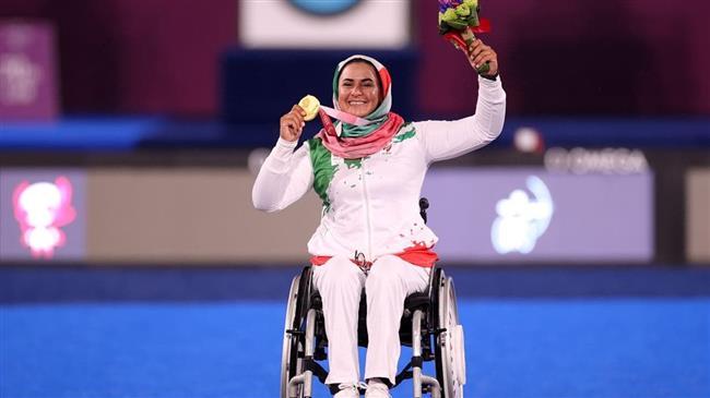 Nemati earns Iran's 9th gold medal at Tokyo 2020 Paralympic Games