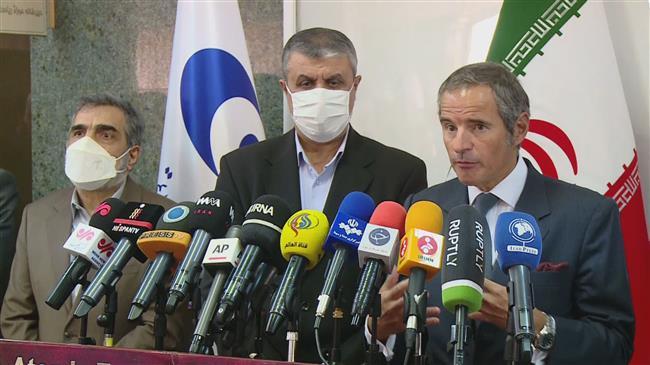 Iran's AEOI hails talks with IAEA chief in Tehran as constructive