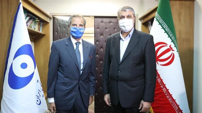 Iran's nuclear chief hails 'constructive' technical talks with IAEA's Grossi