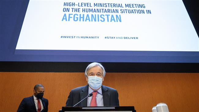 UN chief urges international community to provide 'lifeline' for Afghans