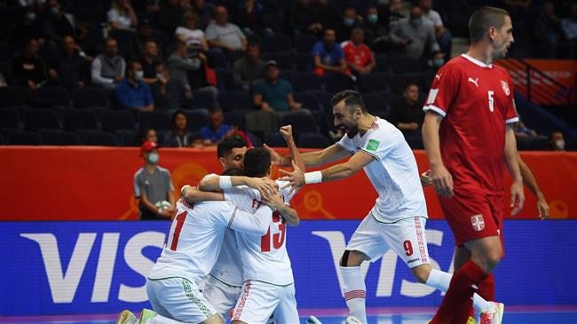 FIFA Futsal World Cup: Iran defeat Serbia 3-2