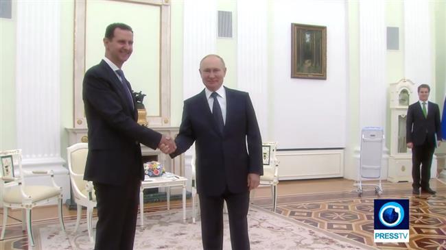 Annonce-choc de Poutine à Assad!