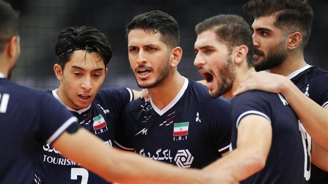 2021 Asian Volleyball C'ships: Iran beat South Korea