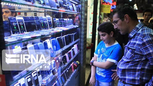 Iran's mobile phone imports up 85% in March-August