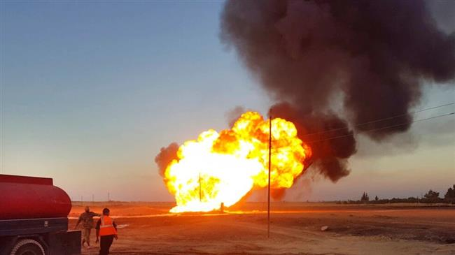 Daesh claims responsibility for attack on Syrian gas pipeline